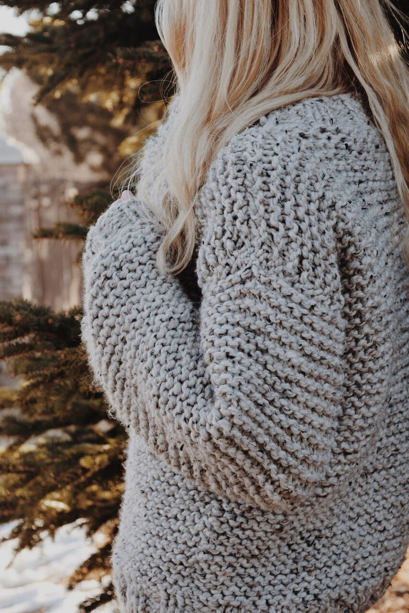 Knit Kit The Campfire Sweater – Lion Brand Yarn