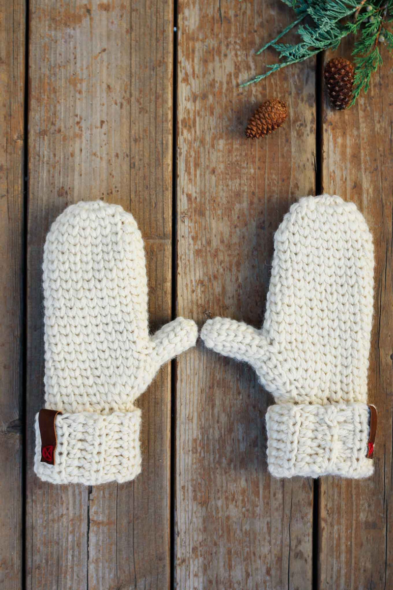 Crochet Kit - Morning Mittens