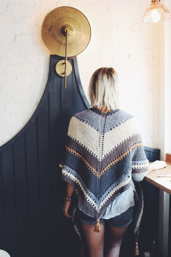 Knit Kit - Coffee Shop Wrap