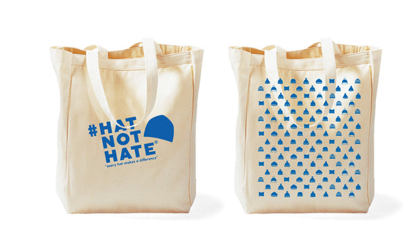 #HatNotHate Tote