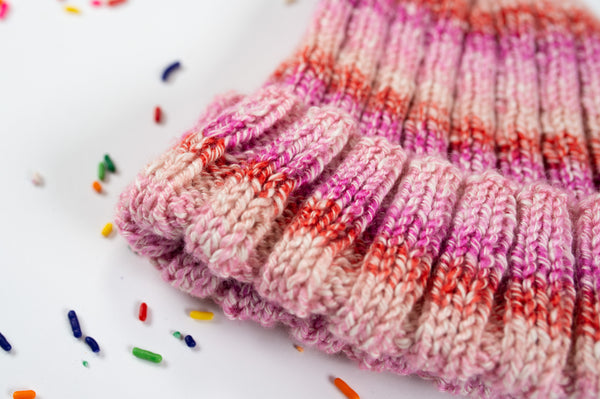 Toddler Ribbed Hat (Knit)