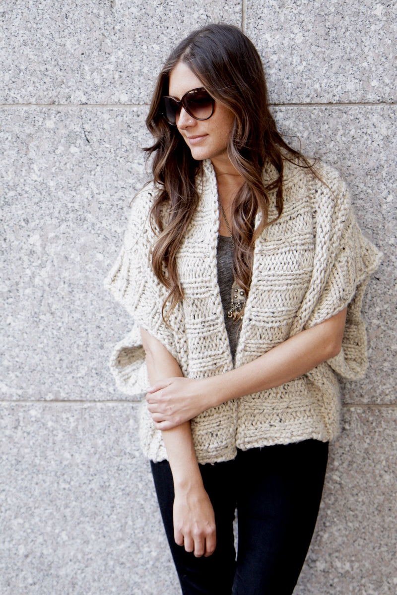 Knit Kit - Mont Blanc Cardigan