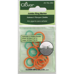 Clover Jumbo Stitch Ring Marker