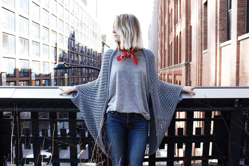 Knit Kit - Chelsea Cape