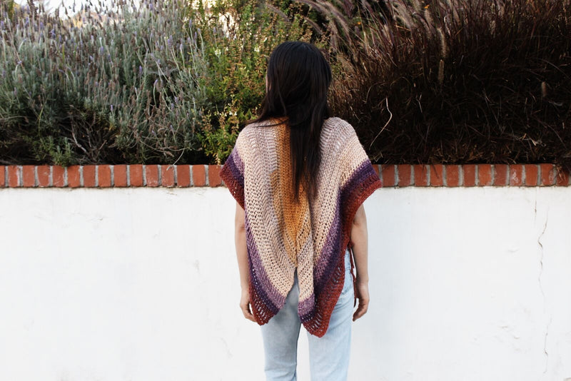 Crochet Kit - Swallowtail Cardigan