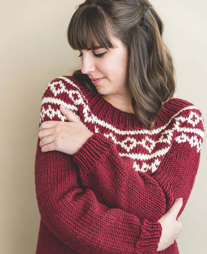 Knit Kit - My First Holiday Knit Sweater