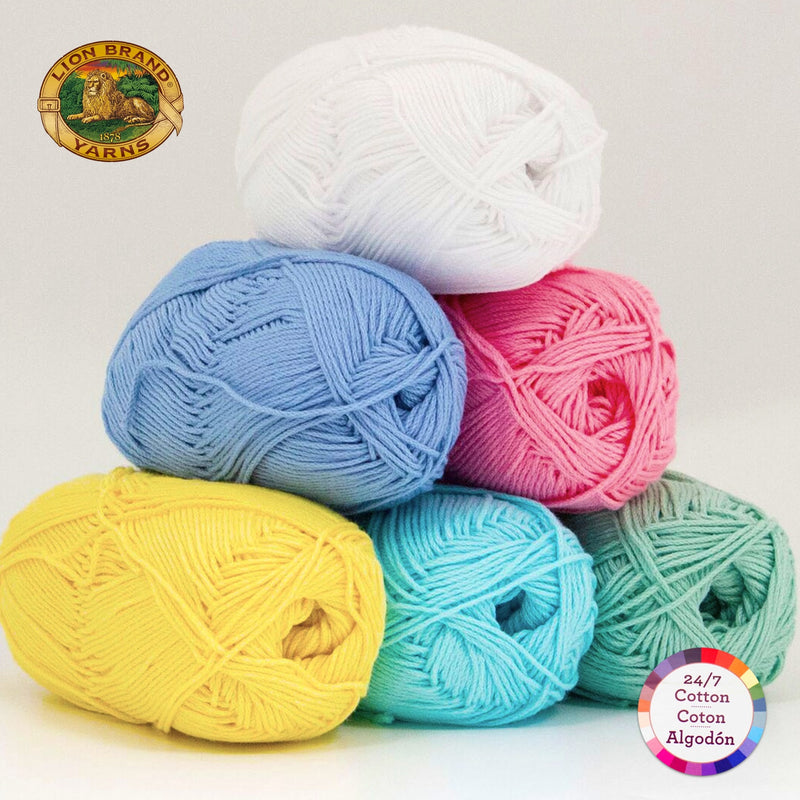 Color Palette - 24/7 Cotton® Yarn - Just Spring