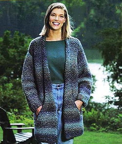 Flattering Jacket Pattern (Knit)