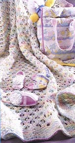 Childs Knitted Blanket Pattern (Knit)