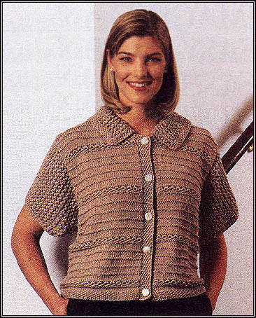 Knitted Light and Breezy Cardigan Pattern (Knit)
