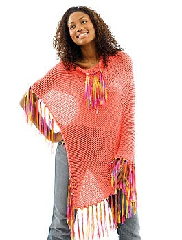 Real Simple Poncho Pattern (Knit)