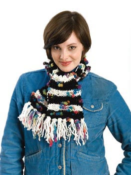 Bi Color Scarf Pattern (Knit)