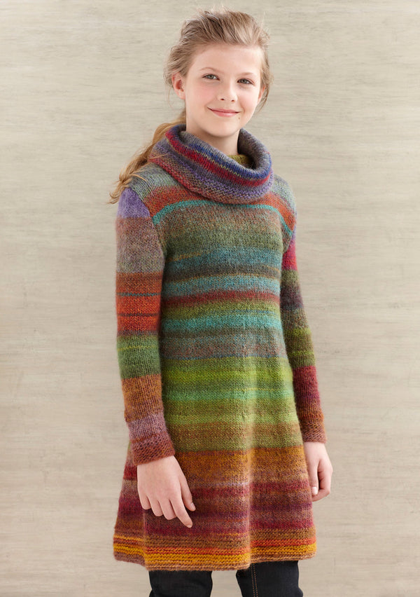 Color Stripe Tunic (Knit)