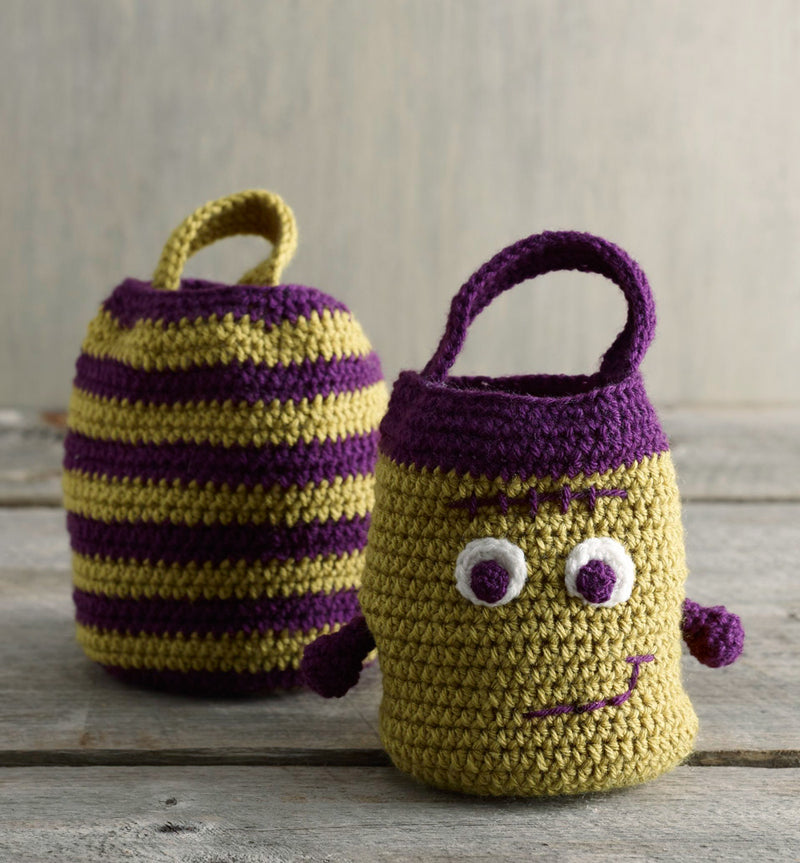 Halloween Treat Bags Pattern (Crochet)
