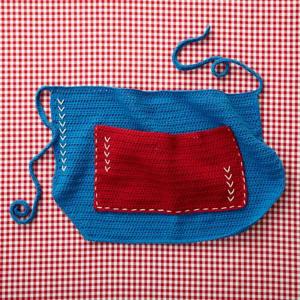4th Of July Apron Pattern (Crochet)