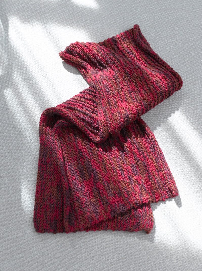 Berry Bright Shawl (Knit)
