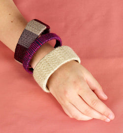 Wrapped Bangle Bracelets Pattern (Crafts)