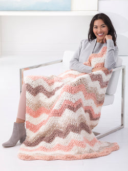 Vintage Ripple Throw (Crochet)