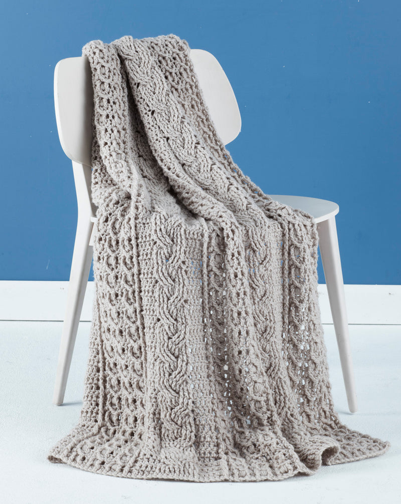 Celtic Afghan (Crochet)