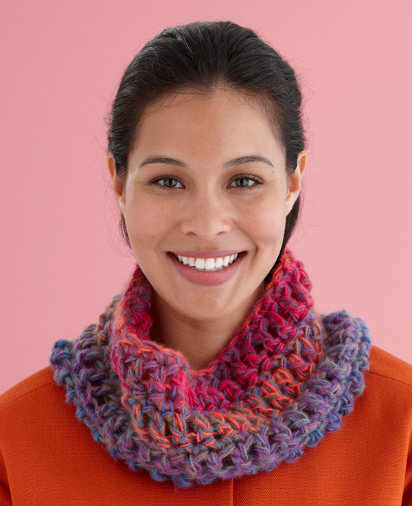 45 Minute Cowl Pattern (Crochet)