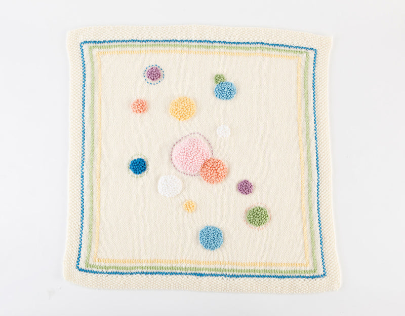 Dotty Baby Wall Hanging Pattern (Knit)