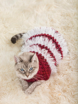 Holiday Pet Sweater (Crochet)