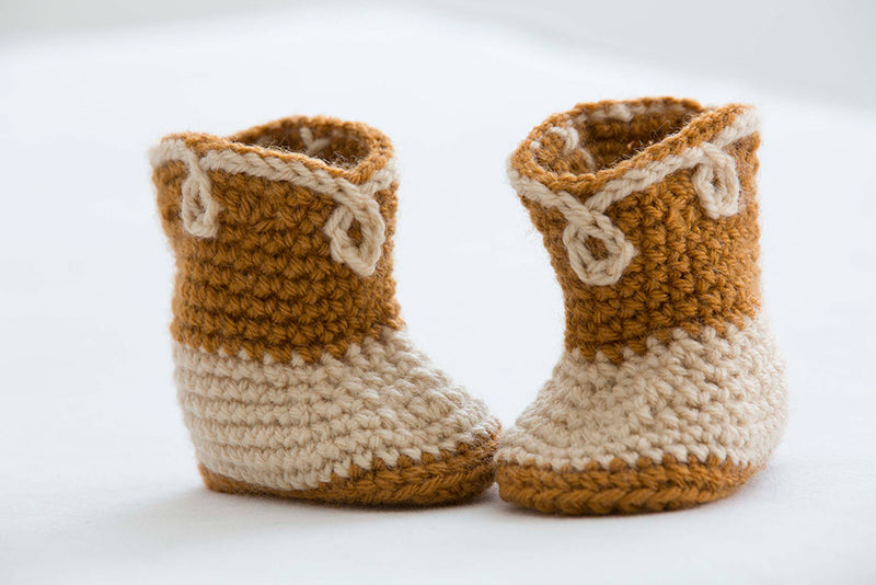 Cowboy Booties Pattern (Crochet)