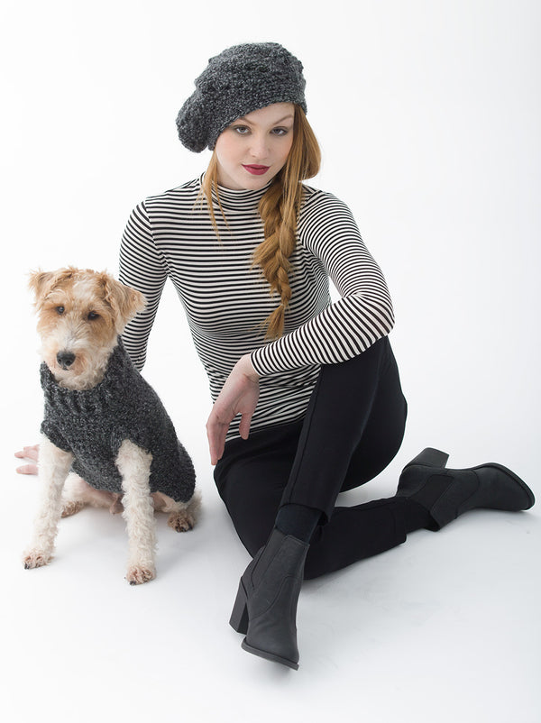 The Poet Dog Sweater (Crochet)