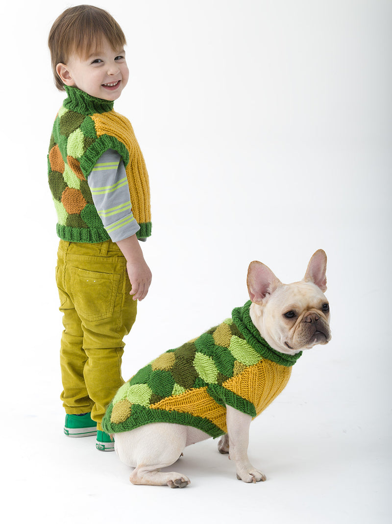 Child's Turtle Vest (Knit)