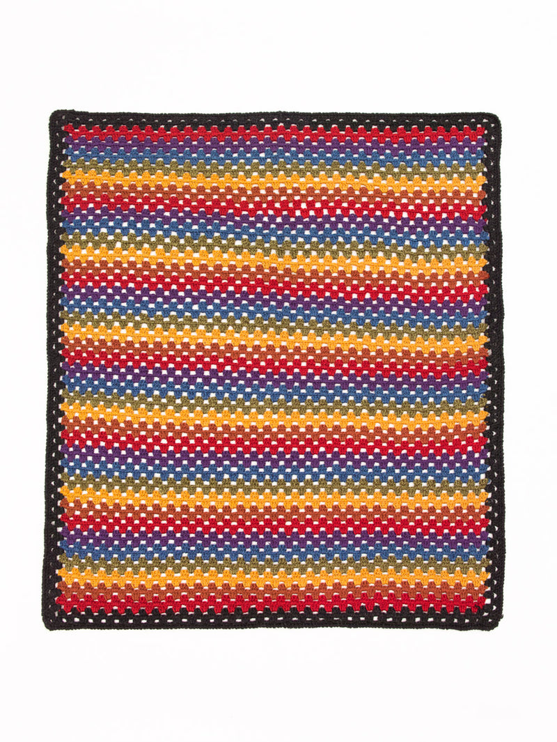 Happy Granny Stripe Afghan (Crochet)