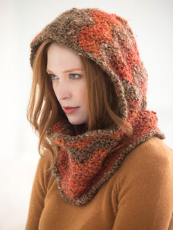 Ripped Hooded Cowl (Crochet)