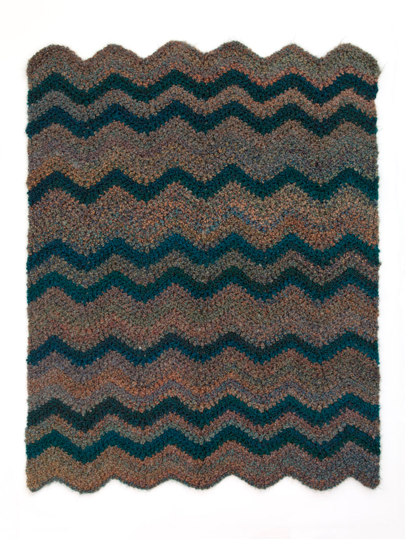 Refreshing Ripple Afghan (Crochet)