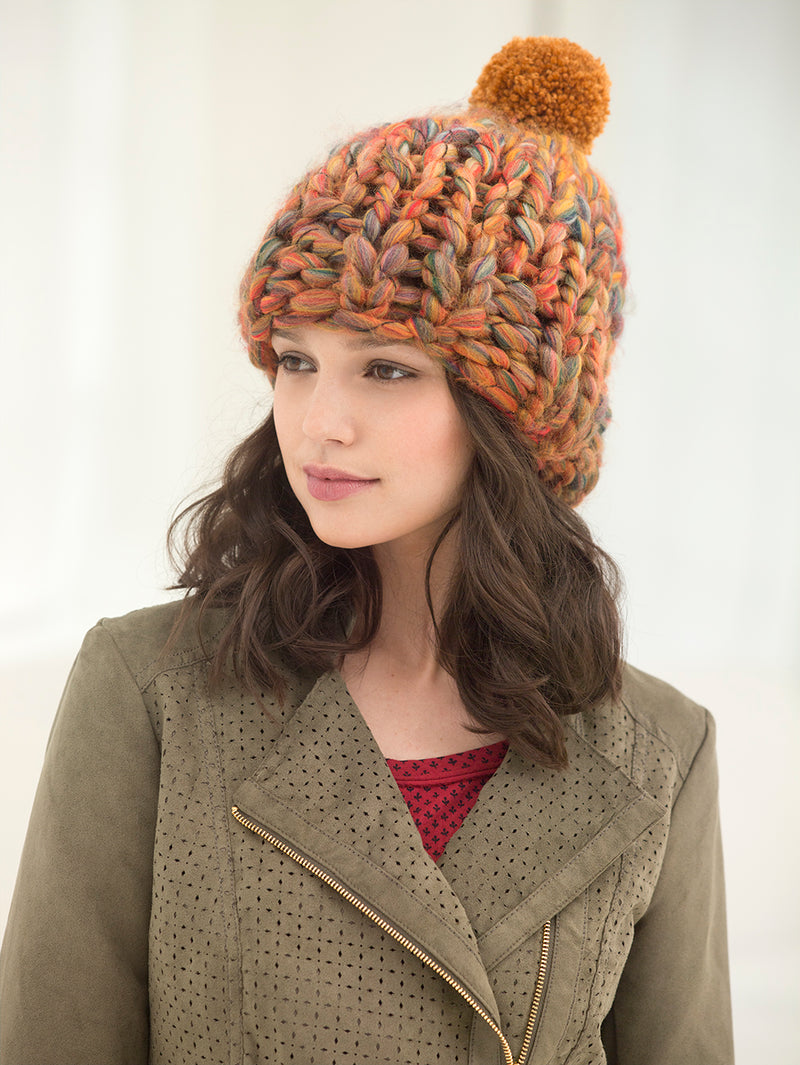 Hat In A Flash (Knit)