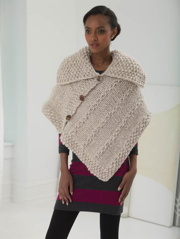 Naturally Chic Cape (Knit)