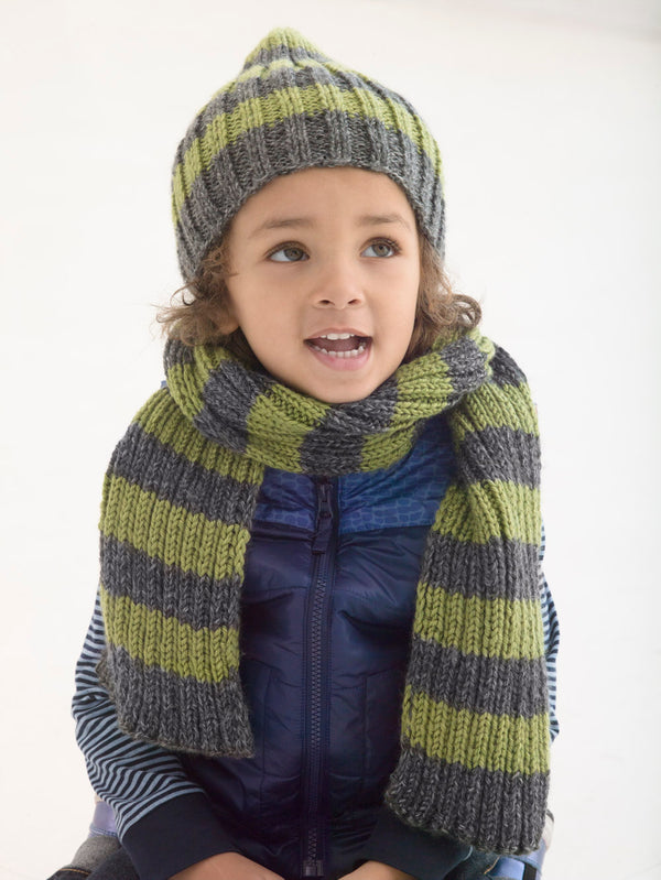 Docklands Hat And Scarf (Knit)