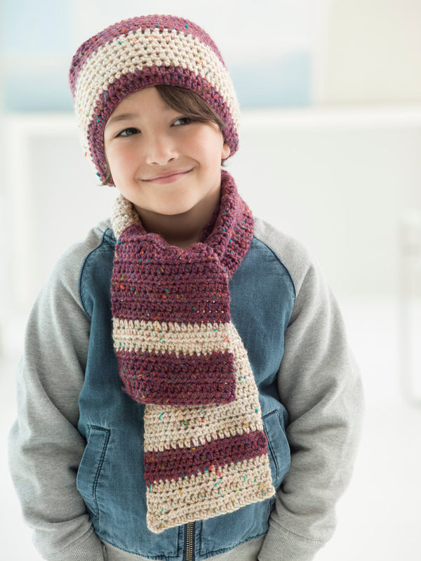 Next Generation Hat And Scarf (Crochet)