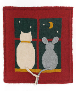 Cat And Mouse Blanket (Knit)