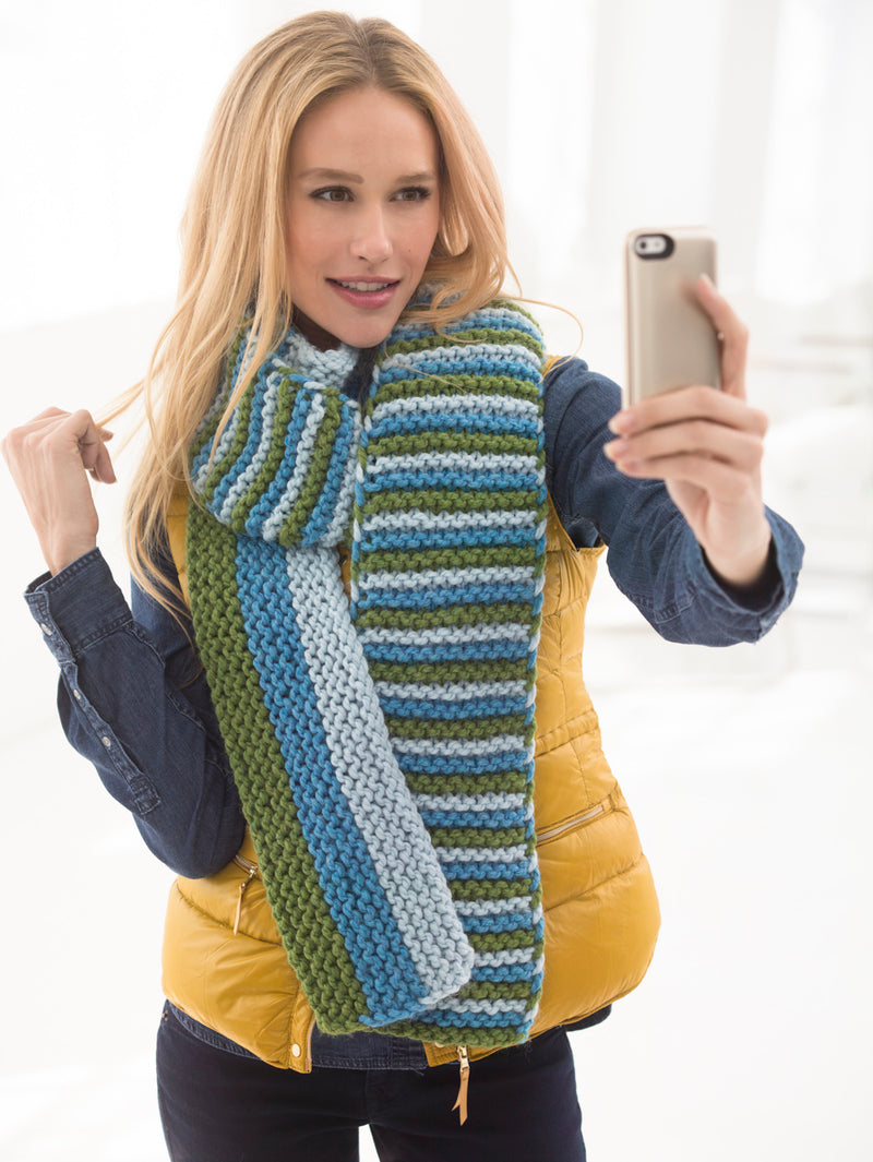 Follow Your Bliss #Scarfie (Knit)