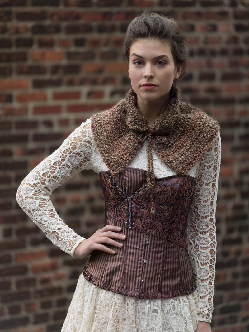 Highland Fling Capelet (Crochet)