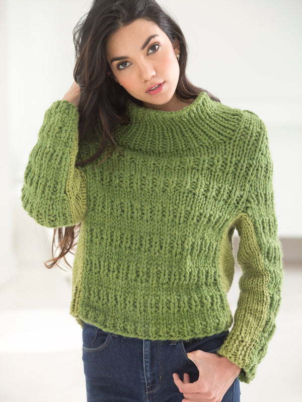 Thick And Thin Pullover (Knit)
