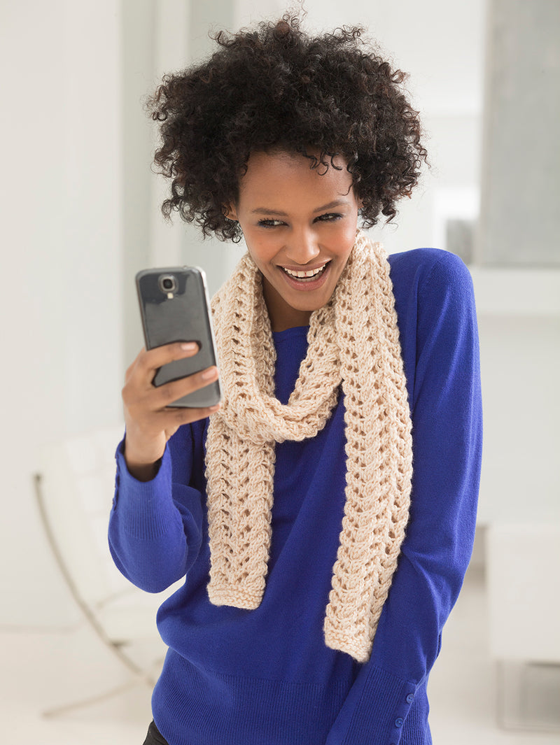 Good Mood #Scarfie (Knit)