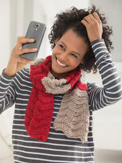 Making Waves #Scarfie (Crochet)