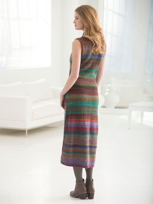 Shapely Striped Maxi Dress (Knit)