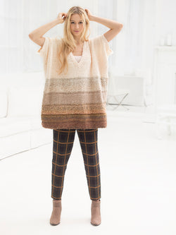 Shaped Poncho (Knit)