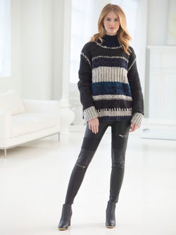 Color Block Sweater (Knit)