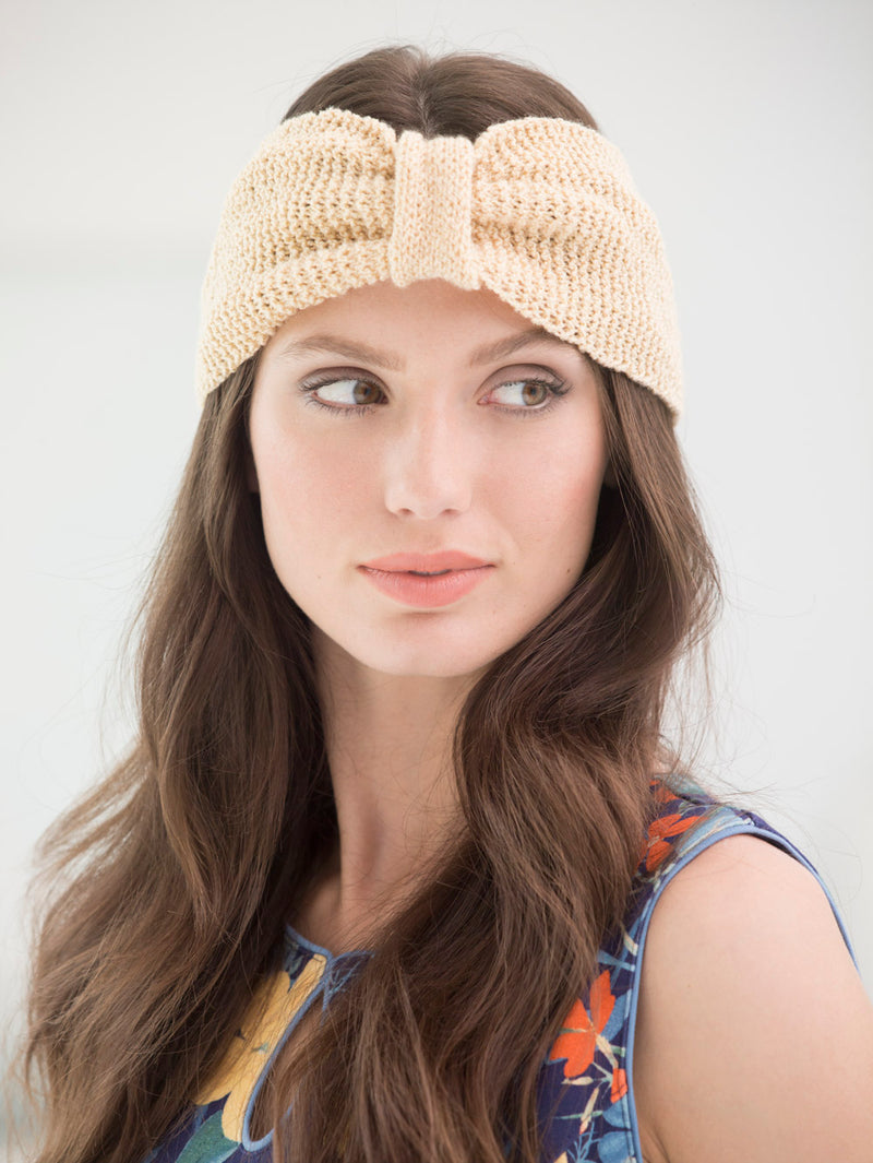 Purl Stitch Headband (Knit)