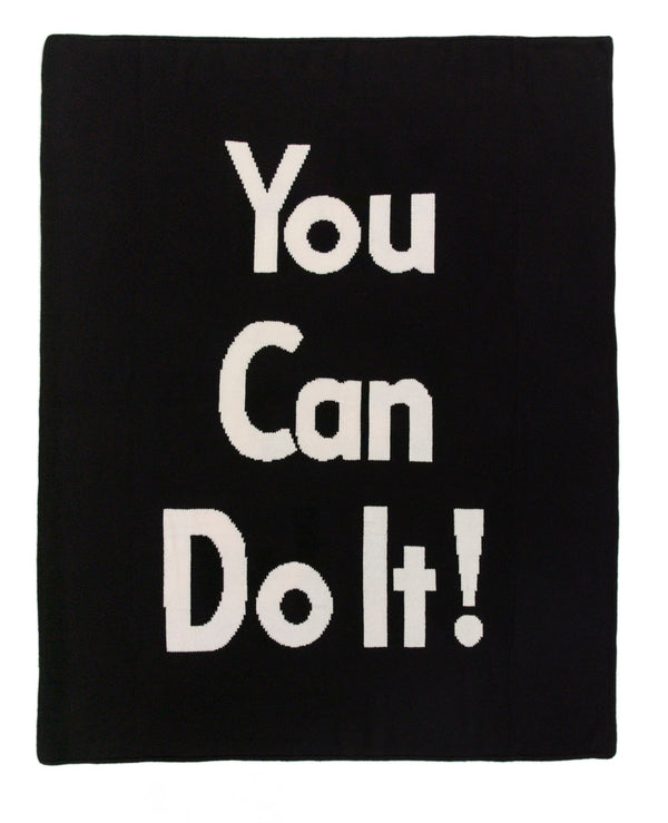You Can Do It Afghan (Knit)