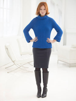 Simply Constructed Pullover (Crochet)