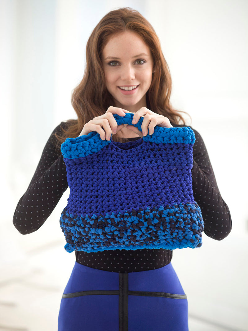 Moody Blue Bag (Crochet)