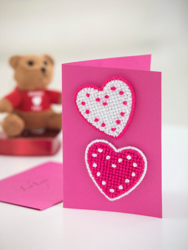 Valentine Hearts Card (Other)